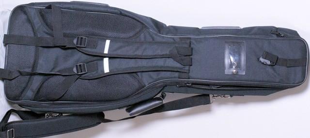 Doppelgigbag per due chitarra elettrica proteggere la for Ganci per appendere chitarre